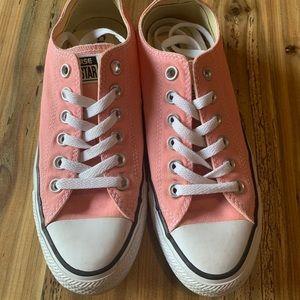 Peachy pink converse unique